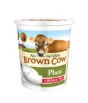 Brown Cow Cream Top Plain Yogurt