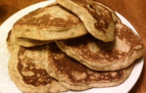 Nut Butter Pancakes Finished