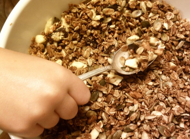 Finished Buckwheat Granola