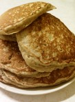 Kevin's Oatmeal Whole Wheat Pancakes