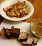 Creole Pork Loin with Fried Cinnamon Apples