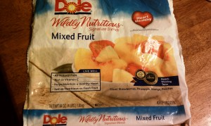 Frozen Dole Mixed Fruit