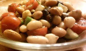 Bean Medley Salad Closeup