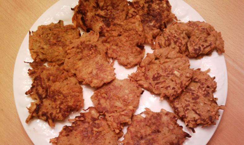 Sweet Potato Patties on Platter